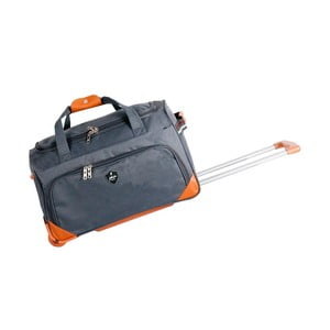 Šedá cestovní taška na kolečkách GENTLEMAN FARMER Sporty, 61 l