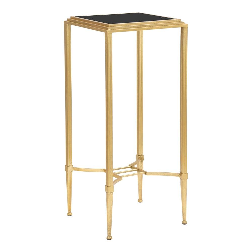 Odkládací stolek ve zlaté barvě MauroFerretti Roman, 35x80cm