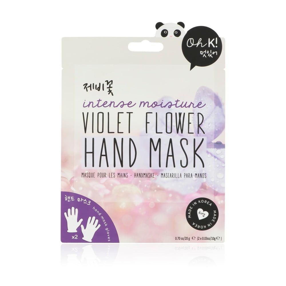 Hydratační maska na ruce NPW Violet Flower