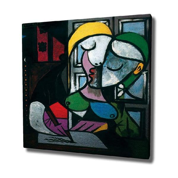 Picasso vászon fali kép, 45 x 45 cm