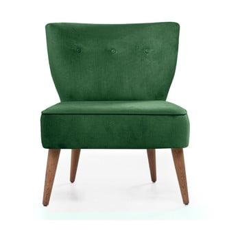 Scaun tapiţat Balcab Home Molly, verde