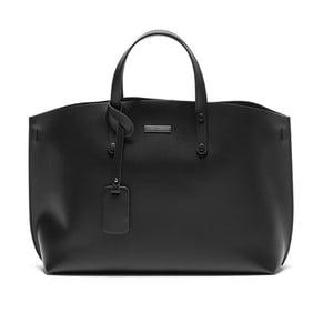 Černá kožená kabelka Isabella Rhea Cristine