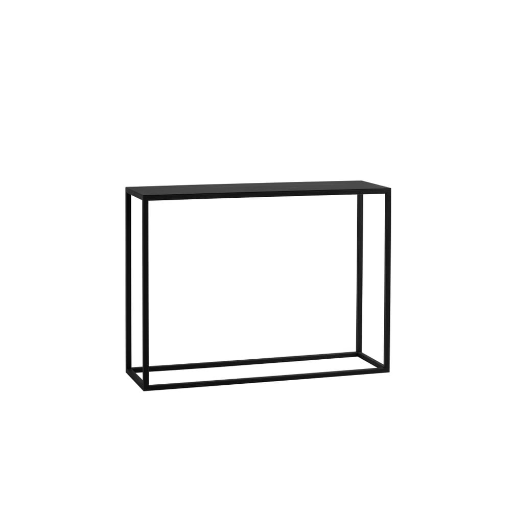 Černý konzolový stolek Custom Form Julita Custom Form