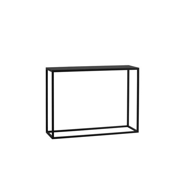 Čierny konzolový stolík Custom Form Julita