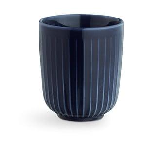 Tmavě modrý porcelánový hrnek Kähler Design Hammershoi, 300 ml