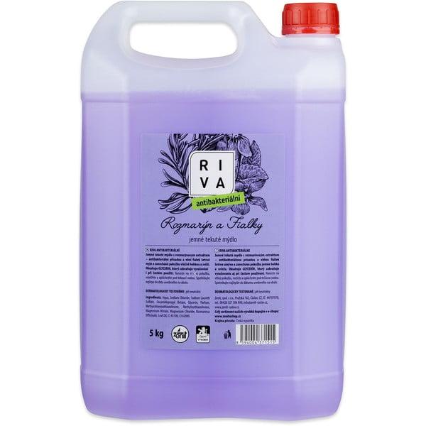 Tekuté antibakteriální mýdlo RIVA, 5kg
