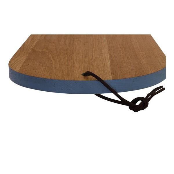 Dřevěné prkénko Oval Blue