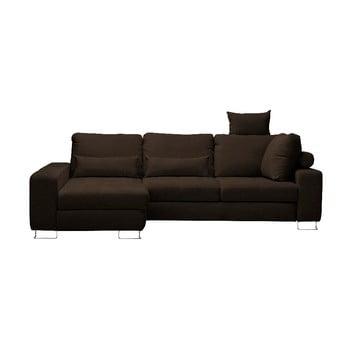 Canapea colţar Windsor & Co Sofas Alpha, partea stângă, maro