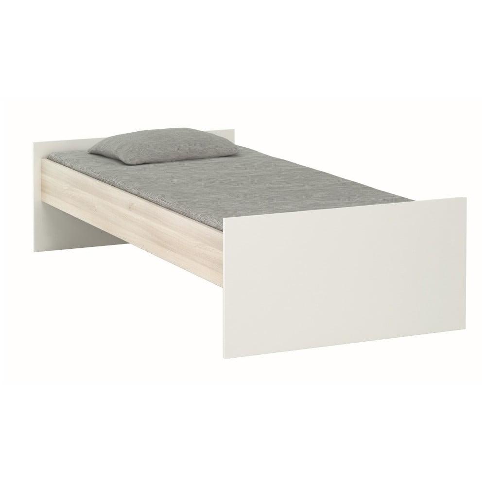 Bílá postel Demeyere Heidi, 90 x 200 cm