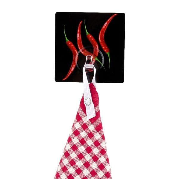 Samodržící věšák Wenko Static-Loc Hot Pepper