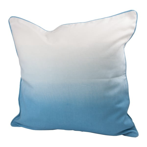Polštář s výplní Dipdye 50x50 cm, modrý