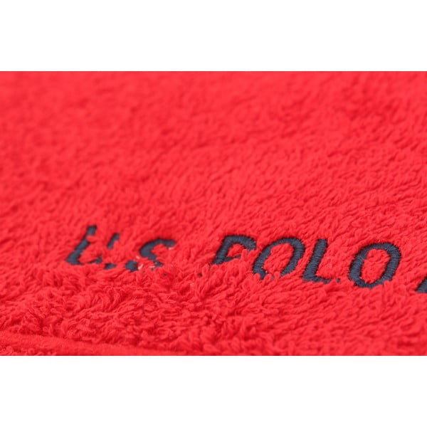 Osuška U.S. Polo Assn. Bath Red, 70x140 cm