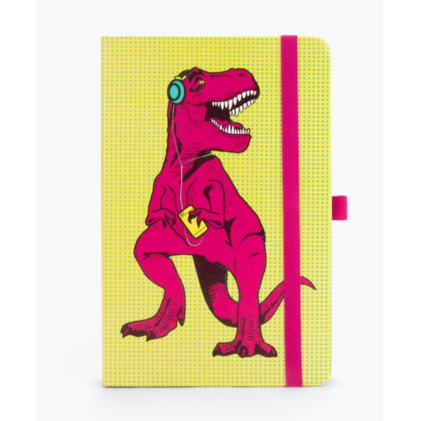 Żółty notes Just Mustard T-Rex