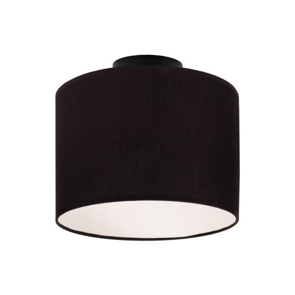 Černé stropní svítidlo Sotto Luce MIKA,Ø25cm
