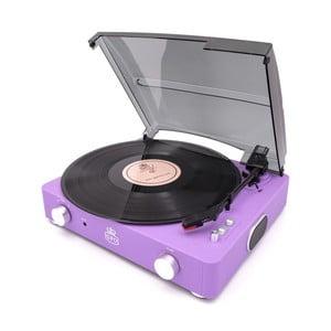 Fialový gramofon GPO Stylo II Lilac