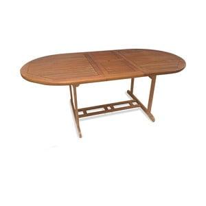 Rozkládací zahradní stůl z eukalyptového dřeva Crido Consulting Eucalypt