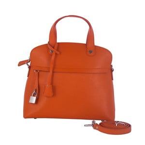 Kožená kabelka Andrea Cardone 2027 Orange