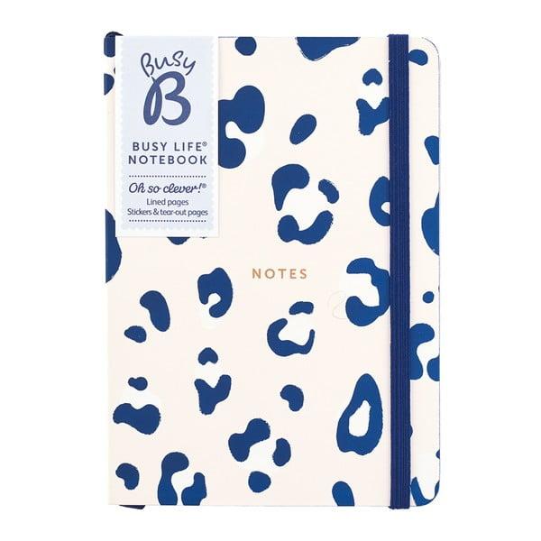 Zápisník s leopardím motívom vo formáte A6 Busy B, 96 strán