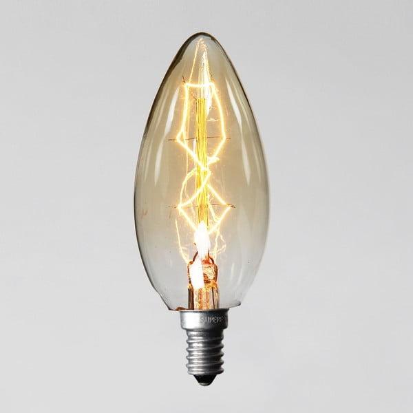 Žárovka Edison 8, C35 E14 40W