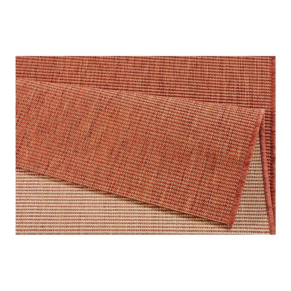 Koberec v terakotové barvě vhodný do exteriéru Bougari Match, 160x230cm
