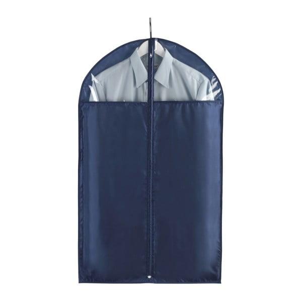 Modrý obal na obleky Wenko Business, 100x60cm