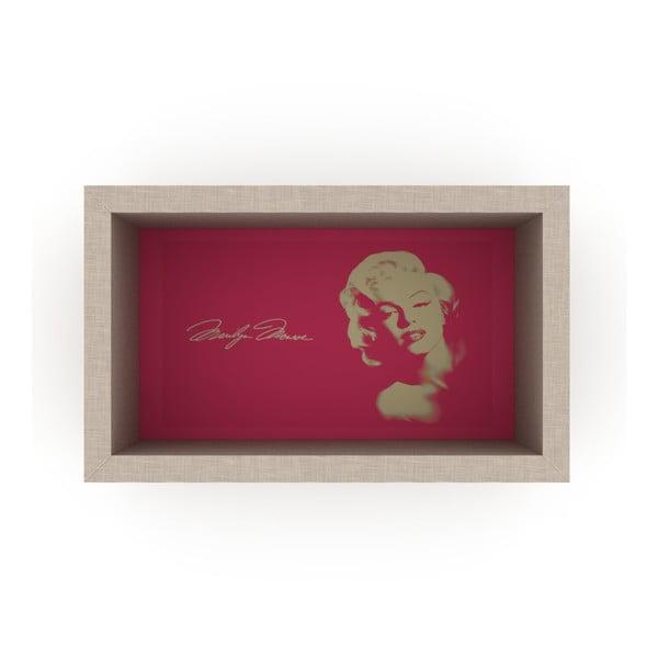 Růžová polička Rafevi Monroe