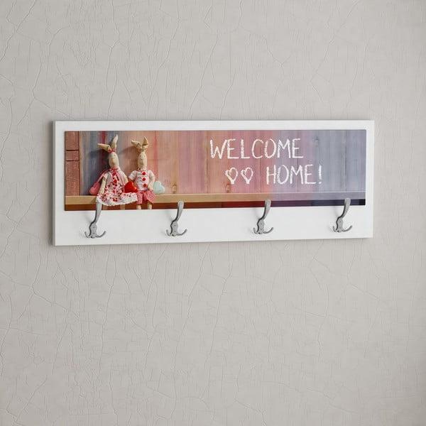 Věšák Welcome Home White