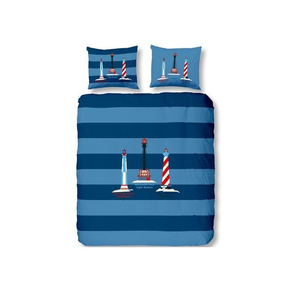 Povlečení Lighthouses Blue, 240x220 cm