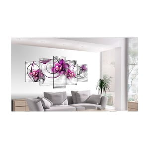 Obraz na plátně Artgeist Orchids and Pearls, 200x100cm