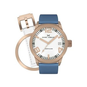 Dámské hodinky Marc Coblen s páskem a kroužkem navíc P33