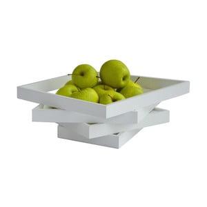 Mísa na ovoce Oblique, bílá