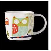 Hrnek z kostního porcelánu Folkland Barn Owl White