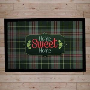 Rohožka Home Sweet Home, dark green, 40x60 cm
