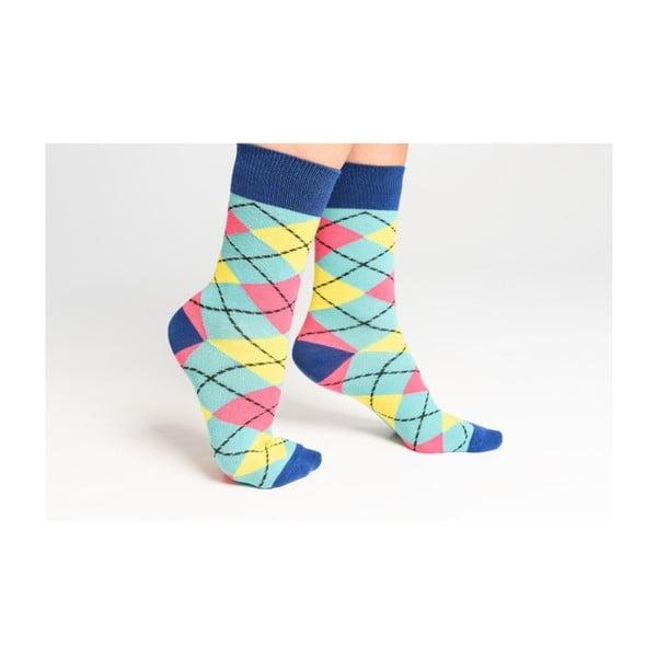 Sada 5 párů barevných ponožek Funky Steps Color Mist, vel. 35-39