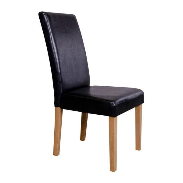 Sada 2 černých židlí House Nordic Mora