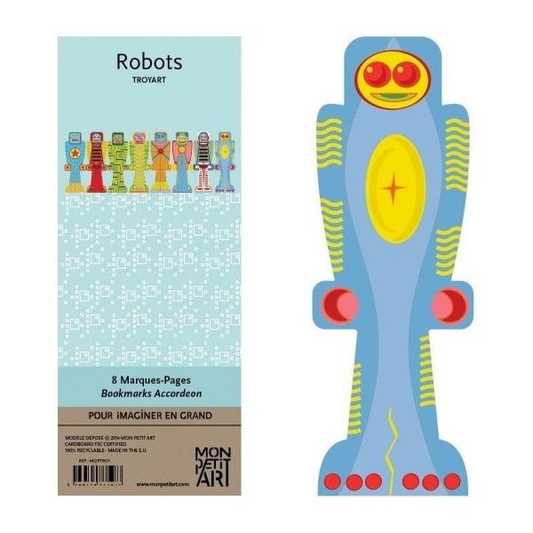 Set semne de carte Mon Petit Art Robots