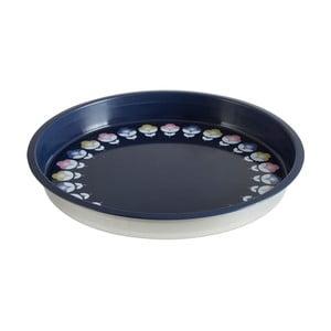 Barevný servírovací podnos z cínu Premier Housewares Joni, Ø 33 cm