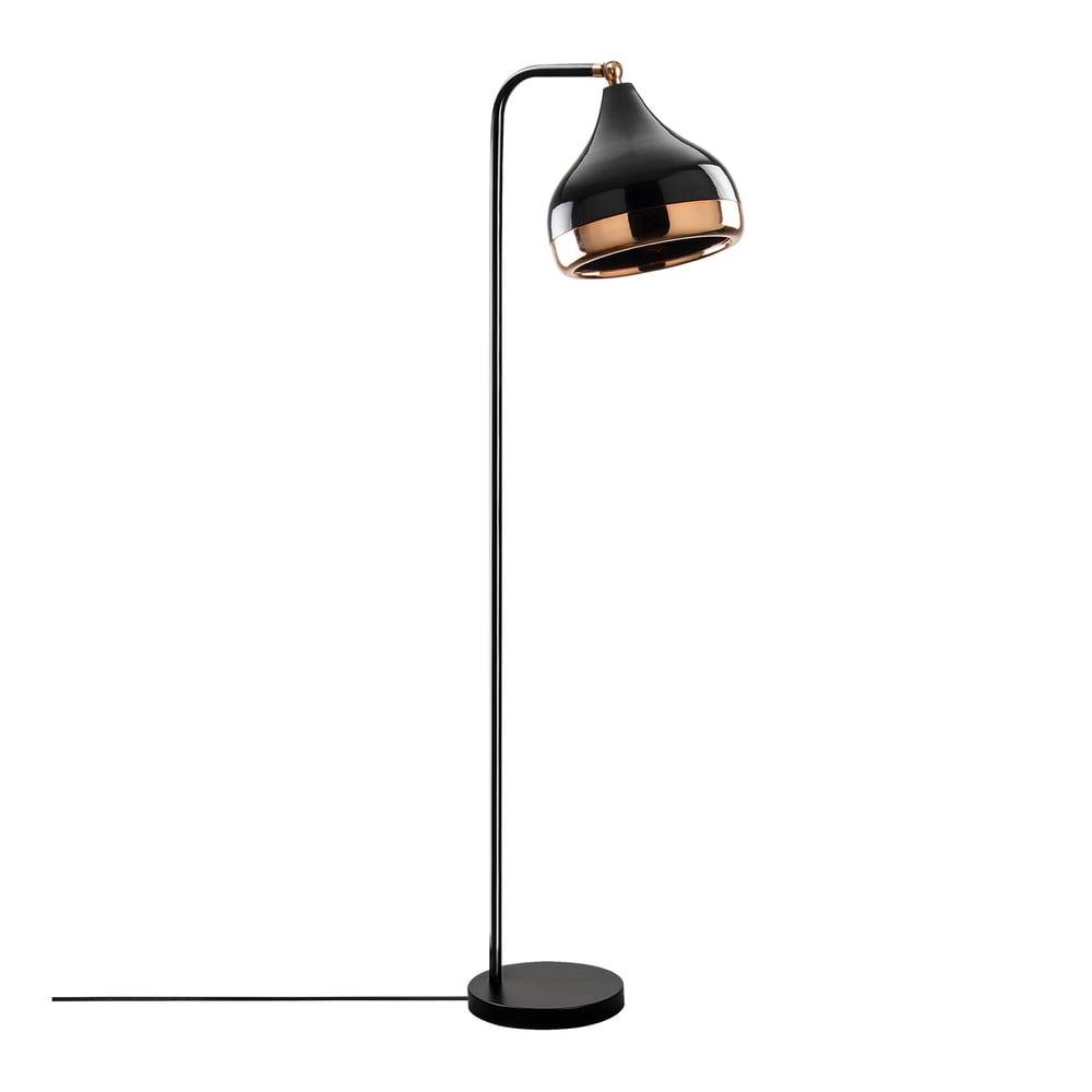 Černá stojací lampa Opviq lights Yildo