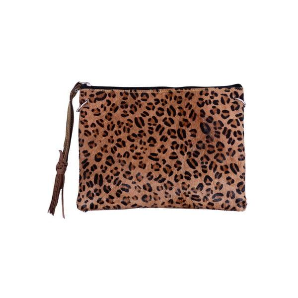 Kožená kabelka Bolso Animal Print
