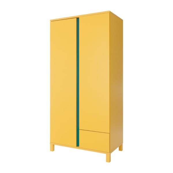 Žlutá dvoudveřová skříň Vox Hometown