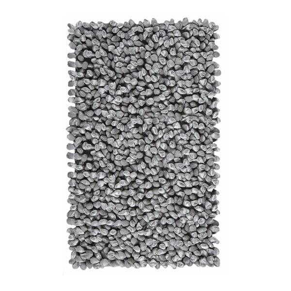 Šedá koupelnová předložka Aquanova Rocca, 60 x 100 cm