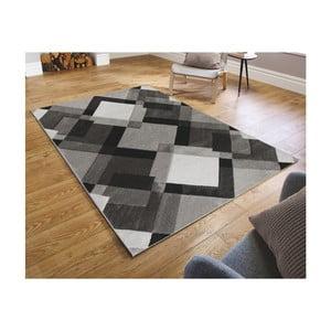 Šedý koberec Flair Rugs Nimbus Grey White, 160 x 230 cm