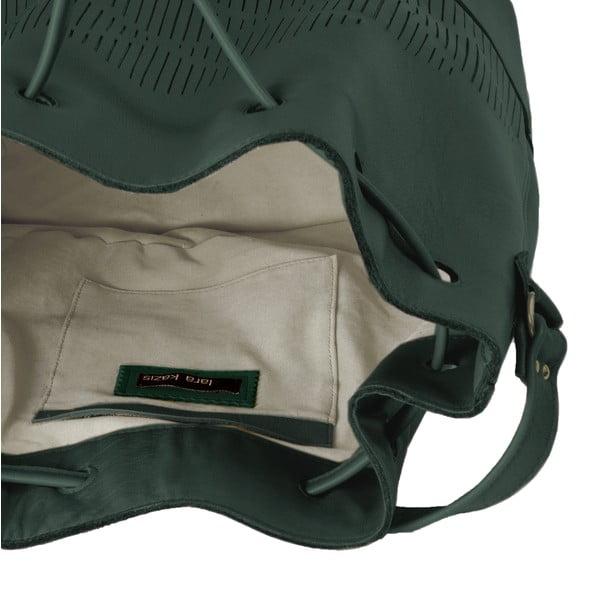 Taška přes rameno Cut Out, zelená