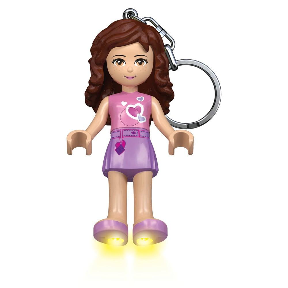 Svítící přívěsek na klíče LEGO® Friends Olivia