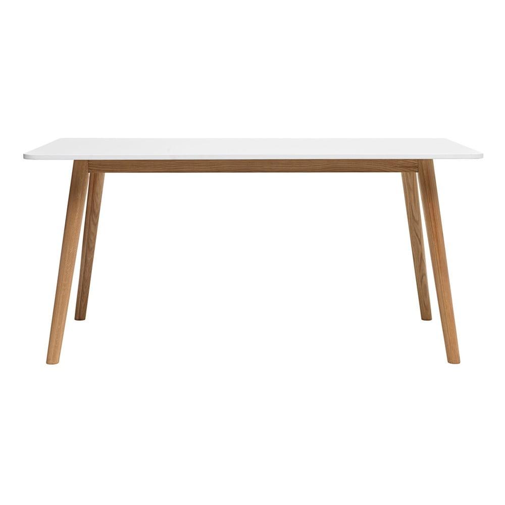 Jídelní stůl ze dřeva bílého dubu Unique Furniture Turin