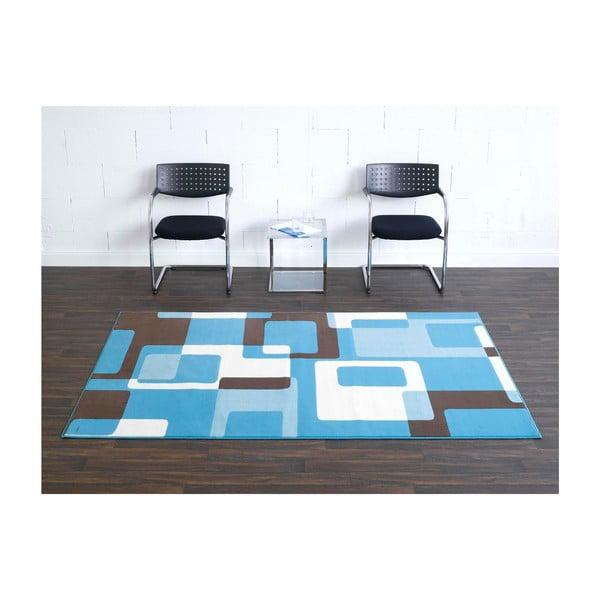 Modrý koberec Hanse Home Hamla Retro, 120x170 cm