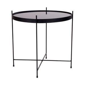 Černý konferenční stolek House Nordic Venezia, ø48cm