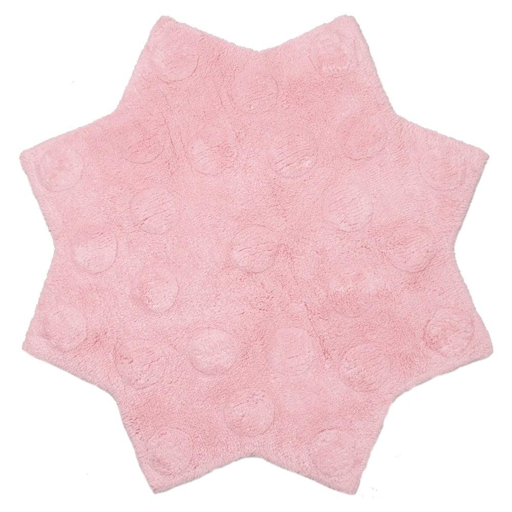 Dětský koberec Nattiot Little Stella Rose, Ø90cm