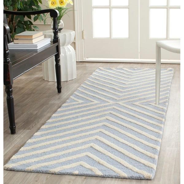 Vlněný koberec Safavieh Prita, 76 x 243 cm