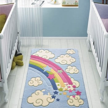 Covor pentru copii Rainbow, 100 x 150 cm de la Confetti